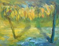 The Portal II, oil on canvas, 100x60