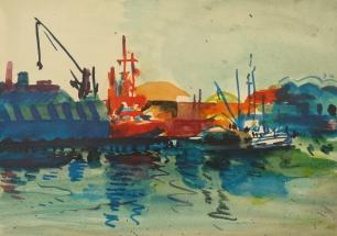 Port Kristiansand, Norway