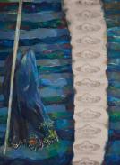 Decoration, oil on canvas, 150x110