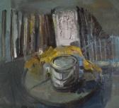 Untitled, oil on wood, 35x28