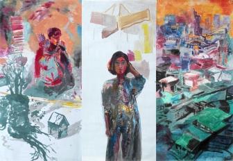 Triptych II., 260x375