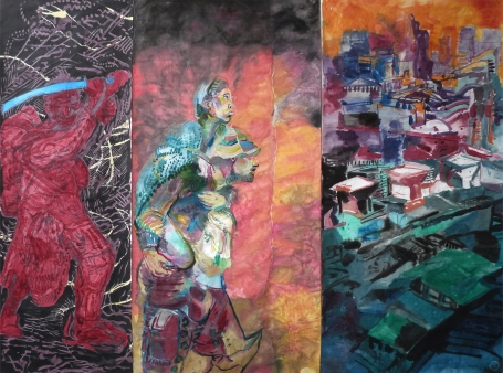 Triptych I., 260x340