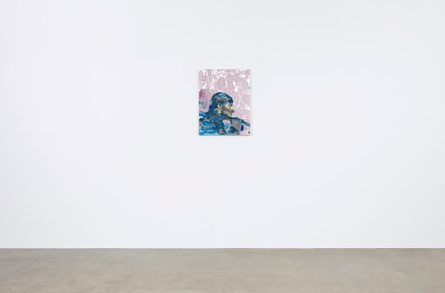Nosič krajin, tuš, akryl, papír na plátně, 70x55cm